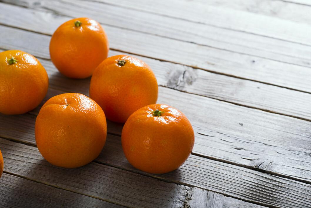 KLEMENTINER: Eksperten forteller at vi knapt har sett en mandarin i butikkhyllene siden 1963.  Foto: Shutterstock / images72