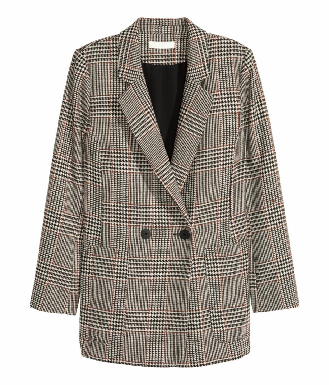 Rutete blazer fra H&M | kr 499 | http://www.hm.com/no/product/55297?article=55297-A