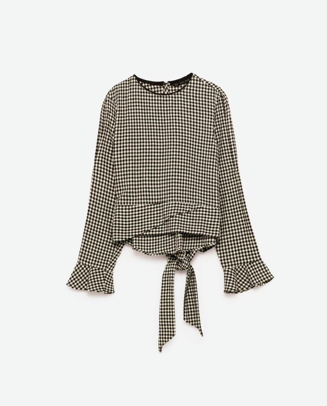Rutete topp fra Zara | kr 299 | http://www.zara.com/no/no/dame/skjorter/se-alle/topp-med-ginghamruter-c733890p4141050.html