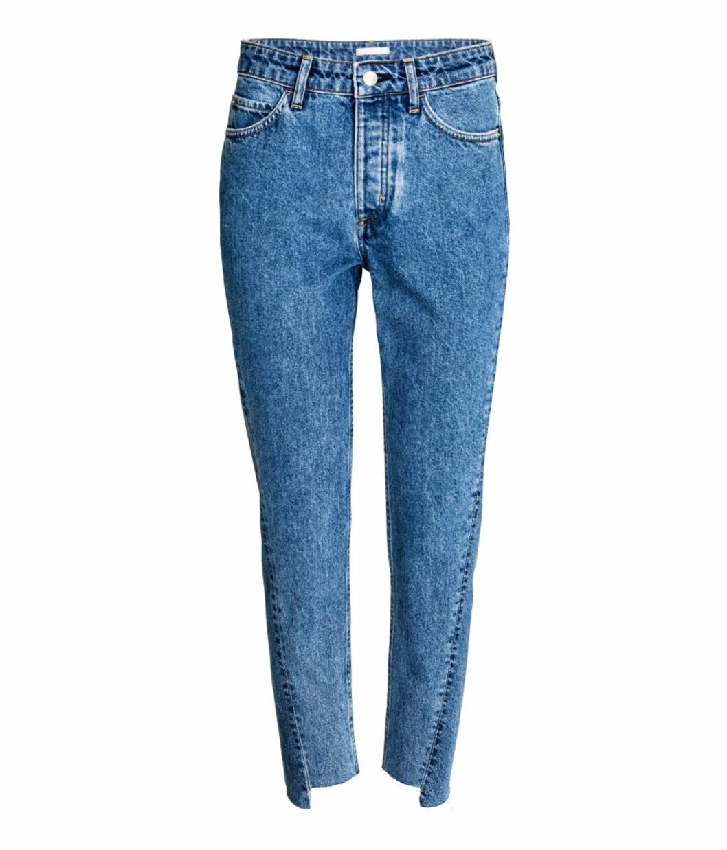 Jeans med ujevn kant fra H&M | kr 399 | http://www.hm.com/no/product/54291?article=54291-A