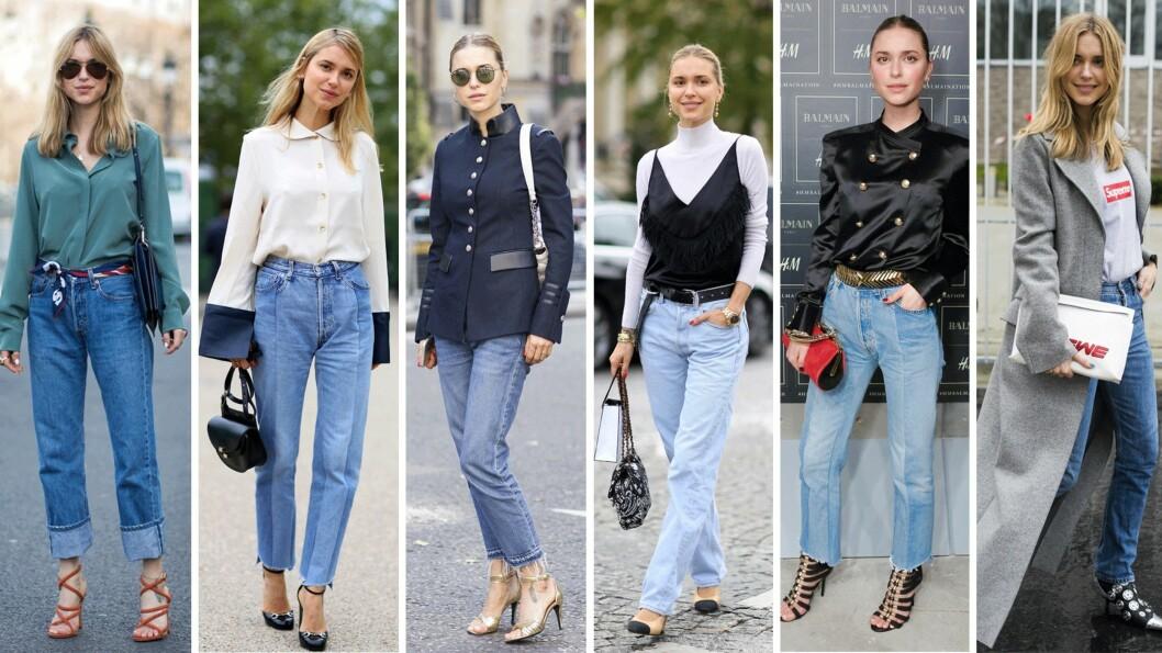 PERNILLE TEISBÆK: Denne danske jenta kan å style et par jeans. La deg inspirere! Foto: Scanpix
