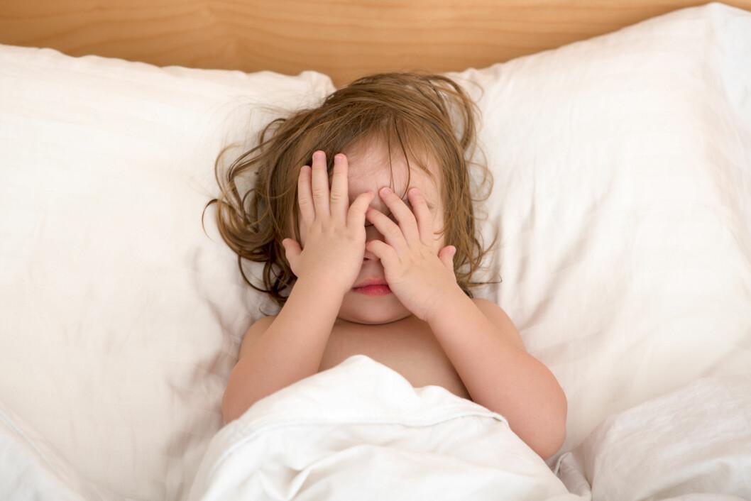 RAMMER BARN: Ekspertene forteller at nattskrekk som oftest rammer barn, men at også noen voksne opplever det til tider. Foto: Shutterstock / Ozgur Coskun