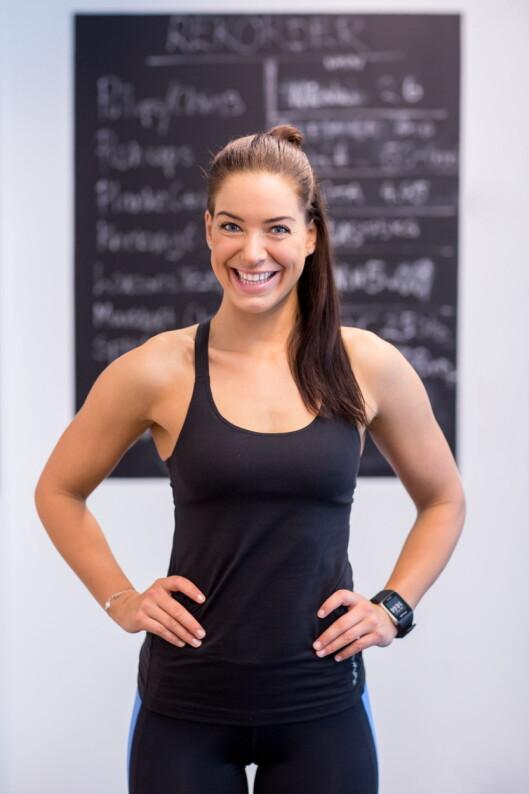 POSITIV TIL SKILLMILL: Personlig trener og treningsblogger Maren Erdvik, er positiv til den kurvede tredemøllen.