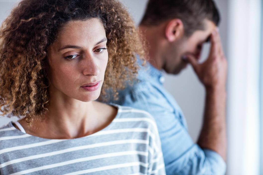 GJØRE DET SLUTT: Hva er egentlig de vanligste årsakene til at parforhold ikke fungerer? Vi har hørt med ekspertene!  Foto: Shutterstock / wavebreakmedia