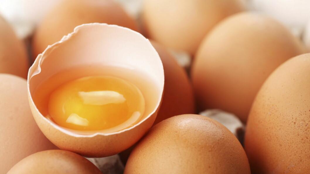 MAT SOM HAR GÅTT UT PÅ DATO: Egg kan du spise lenge etter at de har gått ut på dato.  Foto: NTB Scanpix
