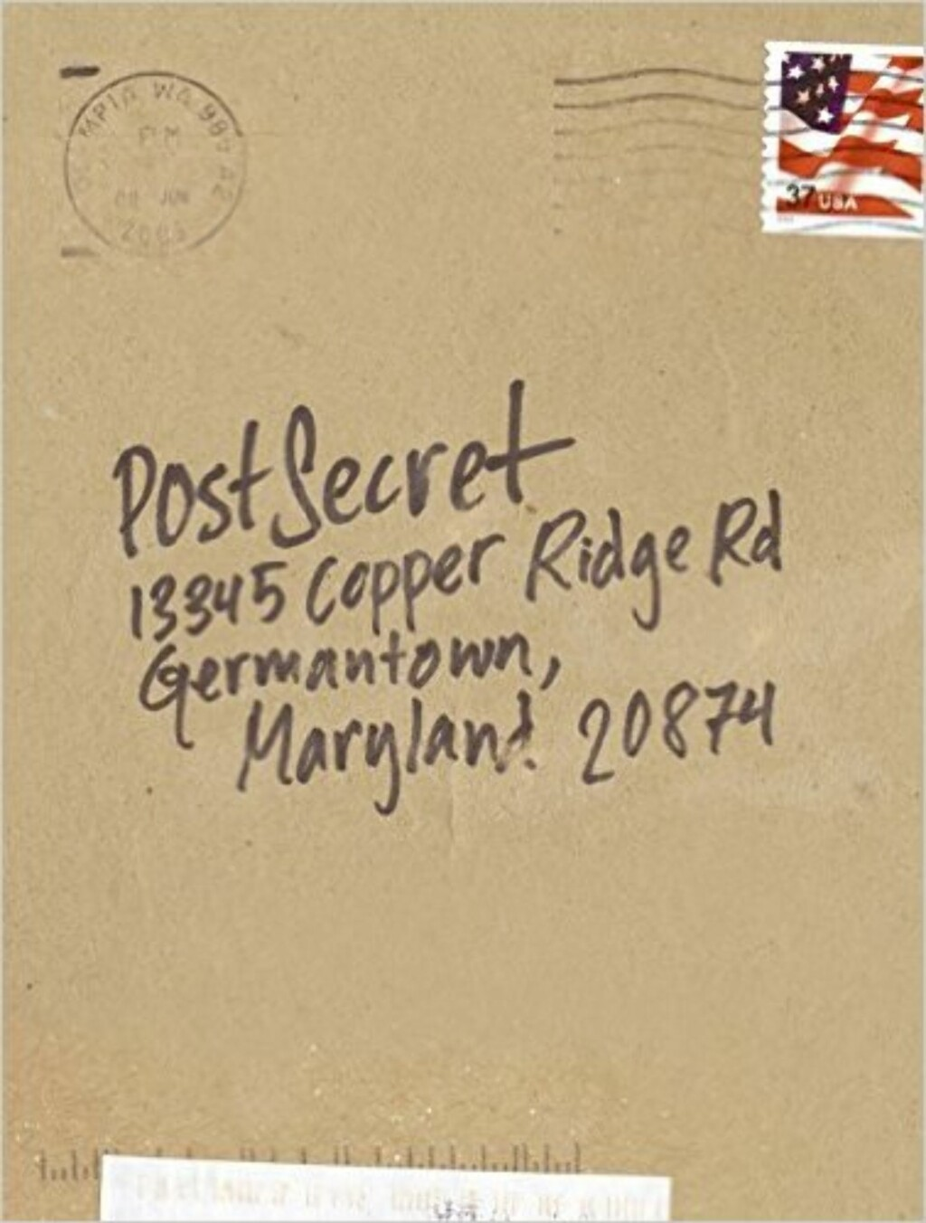 PostSecret: Extraordinary Confessions from Ordinary Lives via Amazon.com | kr 167