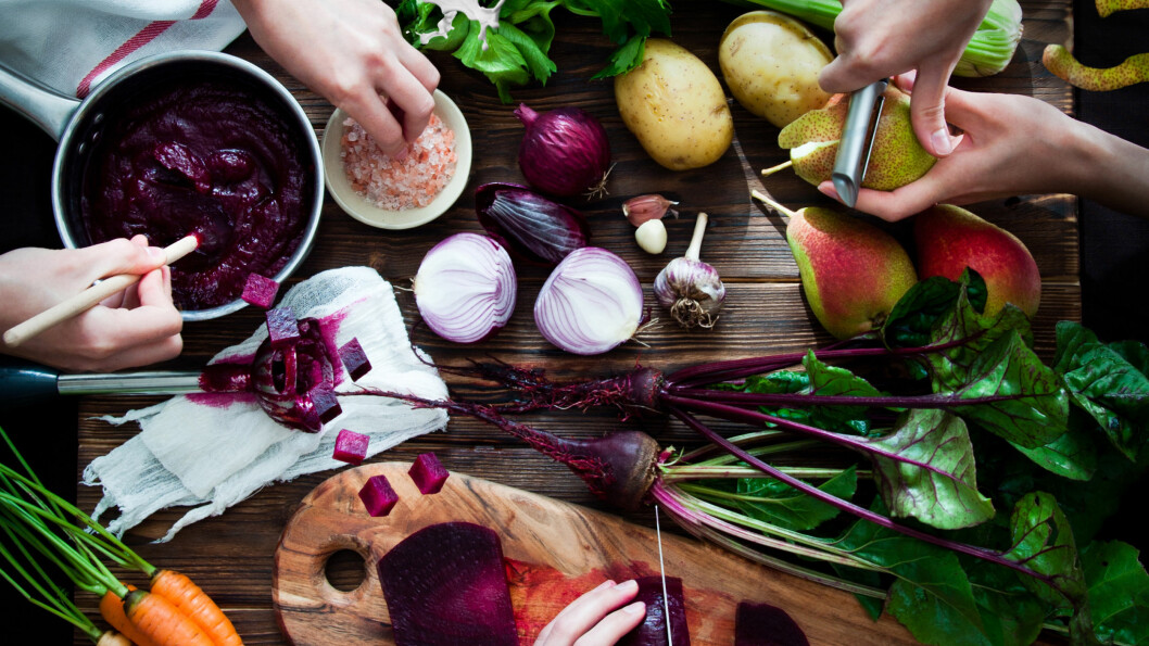 KJØTTFRITT: Den kjøttfrie trenden har kommet for å bli, tror Nofima-forsker og Framtiden i våre hender.  Foto: Scanpix