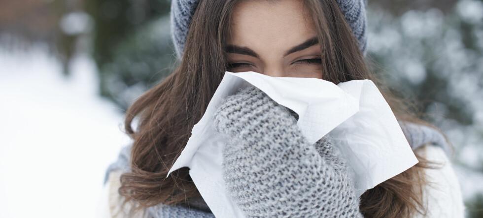 Nå er det høysesong for forkjølelse