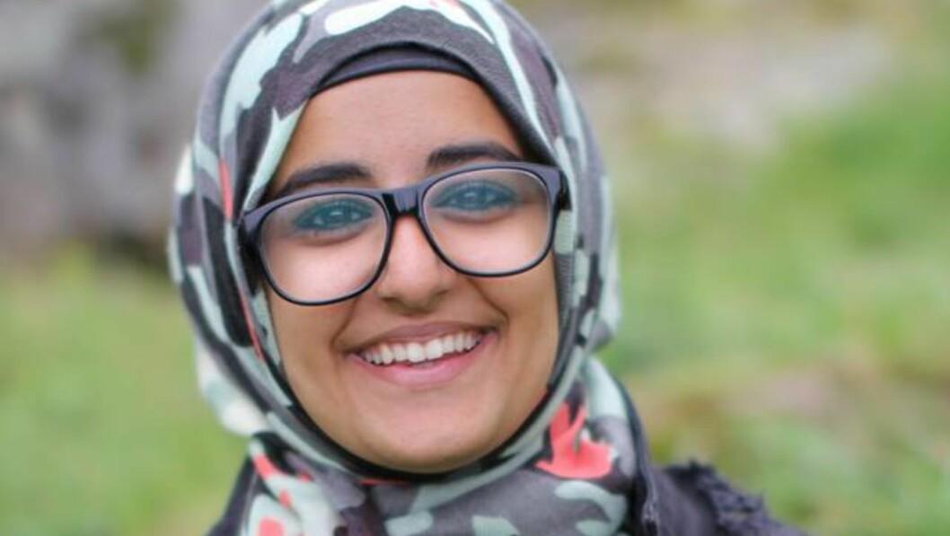 ENGASJEMENT: Fatema Al-Musawi er kjent gjennom media for sin kamp for de homofiles rettigheter, og mener at unge mennesker bør engasjere seg langt mer. Foto: Privat