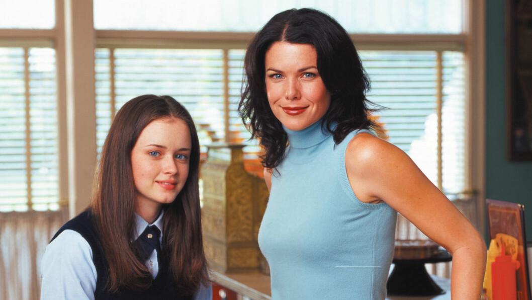 <strong>GILMORE GIRLS:</strong> Siste episode av Gilmore Girls ble sendt i 2007. I november får vi endelig møre Rory og Lorelai igjen.   Foto: WARNER BROS. TELEVISION / Album