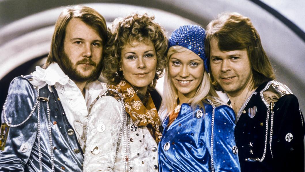 ABBA: Denne uken kom nyheten om at ABBA gjenforenes på Scenen i 2018.  Foto: TT NYHETSBYRÅN