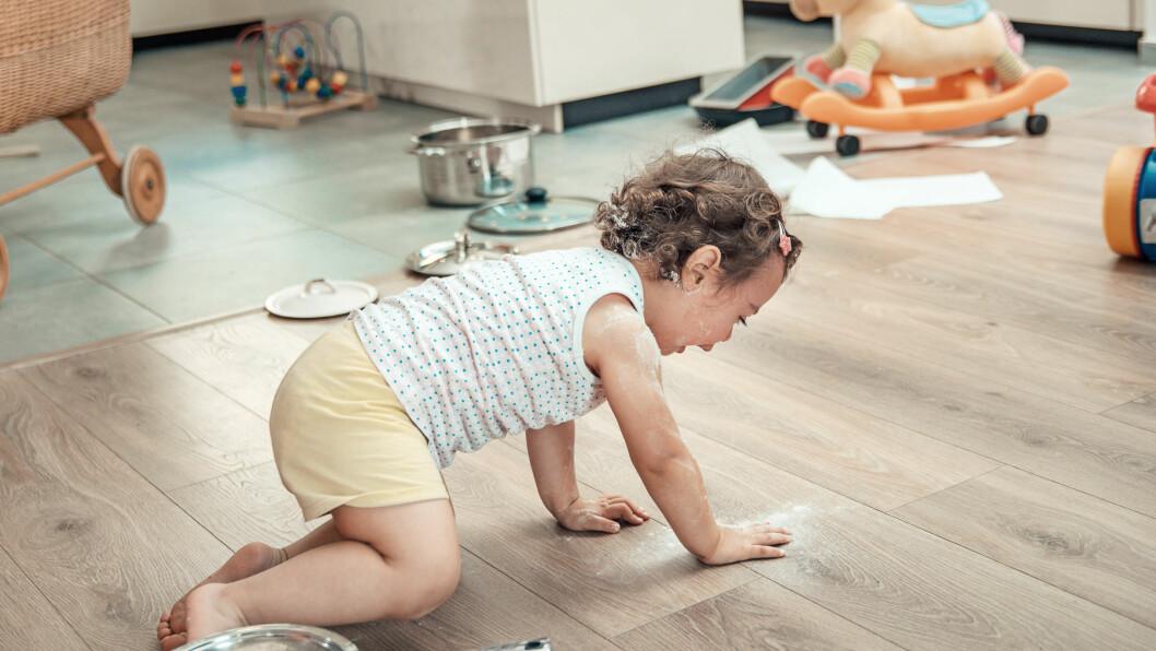 HVERDAGSSTRESS: Er det mulig å stresse ned når huset skal ryddes og ungene små mates, kjøres og trøstes?  Foto: Shutterstock / conrado