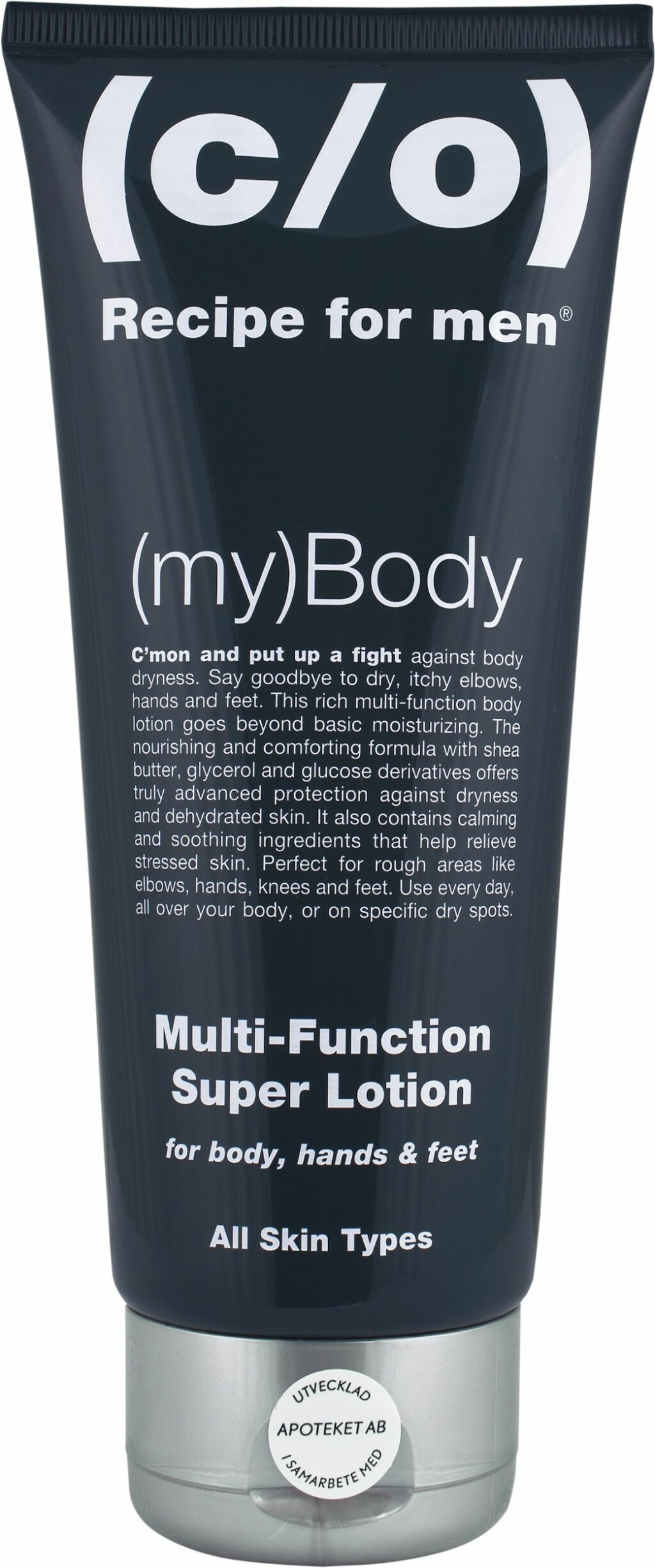Body Lotion fra c/o Recipe for men, kr 119.