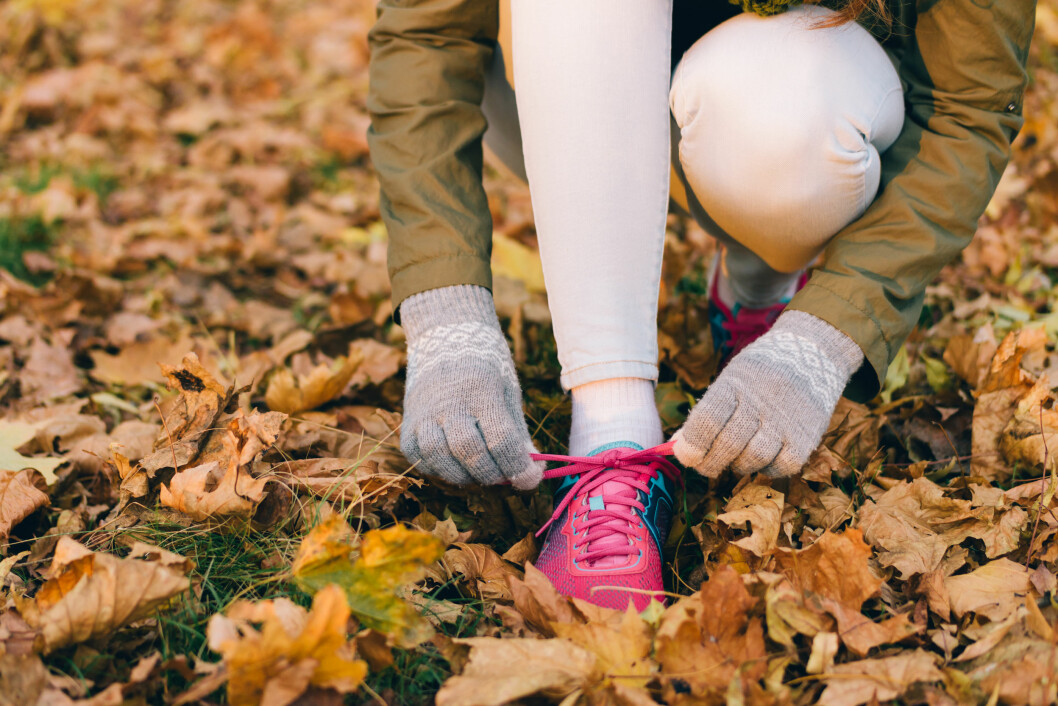 <strong>TRENING:</strong> Fysisk aktivitet hjelper mot vinterdepresjon.  Foto: Shutterstock / progressman