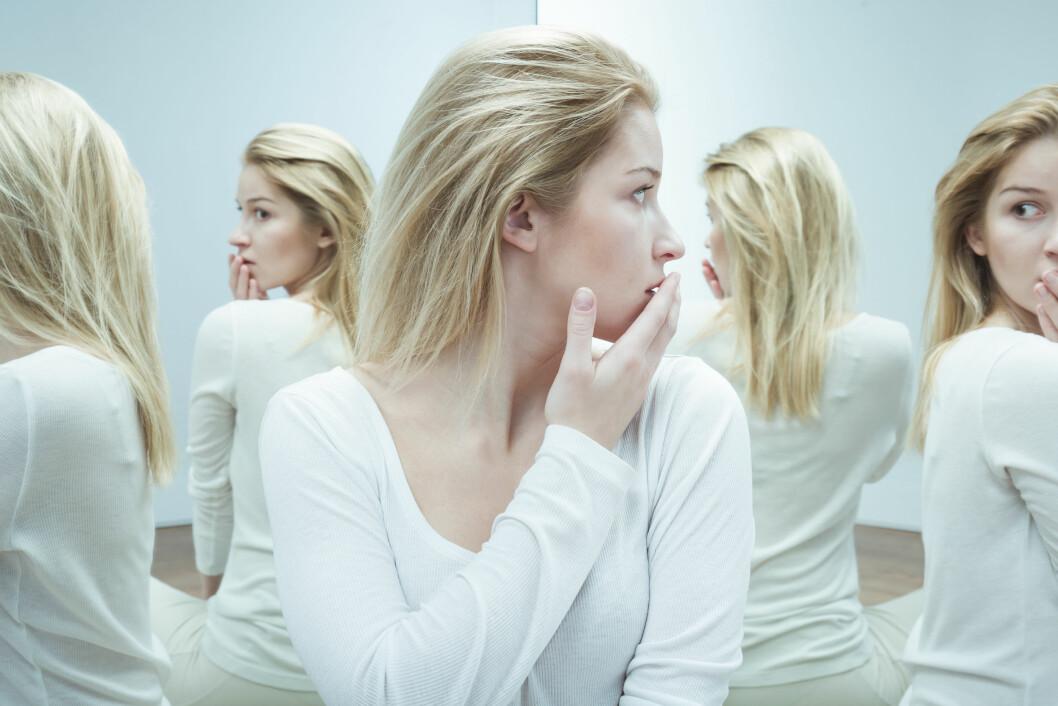 VRANGFORESTILLINGER: Psykose er en forvirringstilstand som fører til feiltolkning av virkeligheten og vansker med regulering av følelser, tanker og atferd, Foto: Shutterstock / Photographee.eu