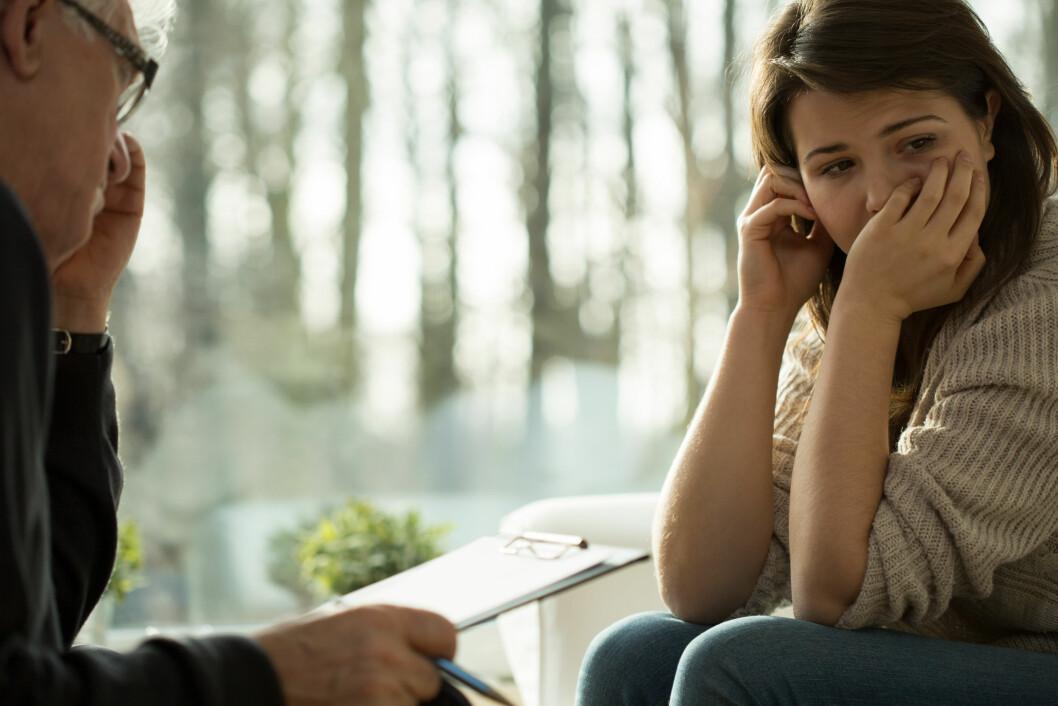BEHANDLING: Det er mulig å bli frisk fra psykose. Og jo tidligere lidelsen oppdages, jo bedre er det. Foto: Shutterstock / ESB Professional