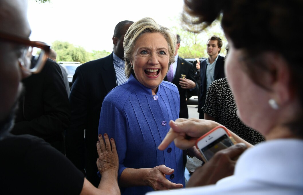 VIL ØKE KLIMATILTAKENE: Hillary Clinton vil jobbe for å gjøre USA grønnere. Foto: Afp