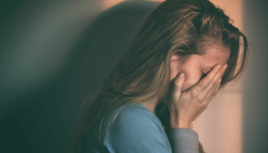 DEPRESJON: Å behandle depresjon riktig kan være viktig for å redusere sjansen for å utvikle Alzheimer.