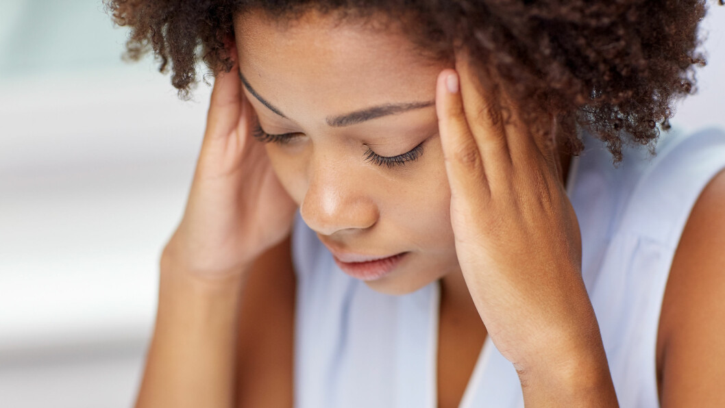 <strong>HJERNERYSTELSE:</strong> Mange kan gå med hjernerystelse ove rlengre tid uten å være klar over det. I denne saken kan du lese om symptomene du bør være obs på.  Foto: Shutterstock / Syda Productions