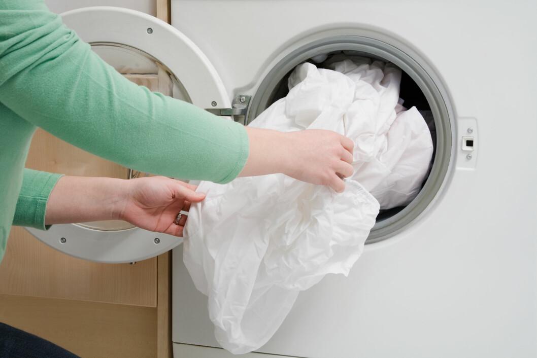VASK: bør gjerne byttes annenhver uke, og vaskes på 60 grader i vaskemaskinen. Foto: Image Source