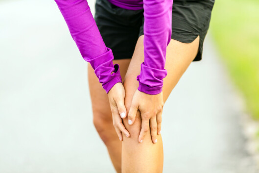 VANLIGST I BEINA: – To tredjedeler av de som får venetrombose får det ofte i et bein, sier eksperten.  Foto: blas - Fotolia