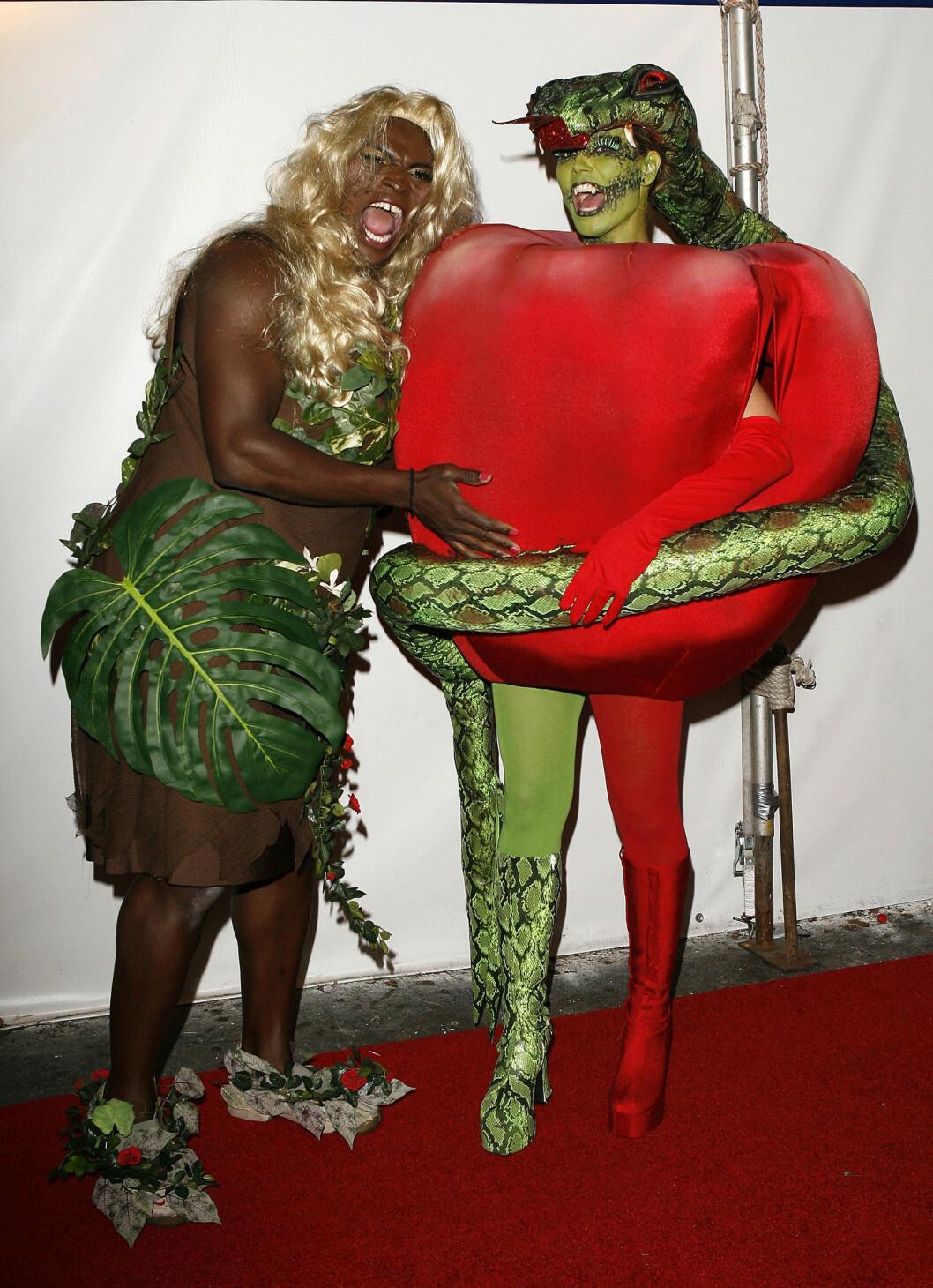 2006: Heidi Klum (t.h.) og eksmannen Seal (t.v.) imponerer år etter år med kreative kostymer. Foto: AP