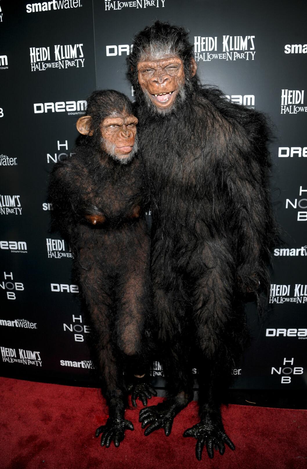 2011: Heidi Klum og eksmannen Seal. Foto: Ap