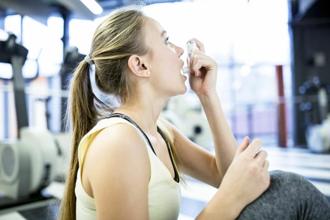 <strong>ANSTRENGELSESUTLØST:</strong> Har du astma og merker forverrelser ved trening/anstrengelse skal du ta forebyggende behandling om dette skjer oftere enn to til tre ganger per uke.  Foto: Science Photo Library