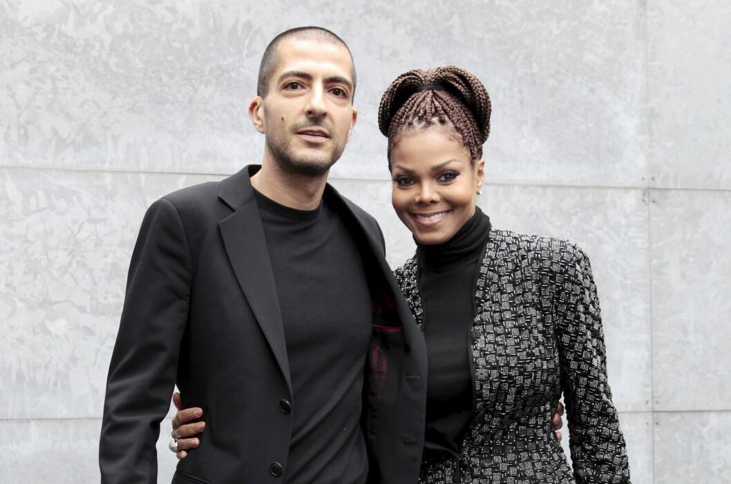 GRAVID: Janet Jackson (50) venter sitt første barn med ektemannen Wissam Al Mana (41). De giftet seg i 2012. Foto: NTB Scanpix