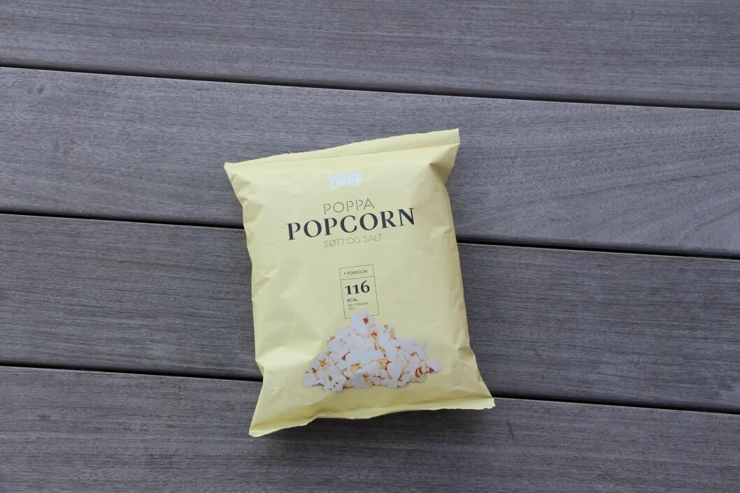 UHELDIG KOMBINASJON: Eksperten forteller at popcorn som både smaker søtt og salt ikke er et lurt valg, da denne kombinasjonen av smaker får oss til å spise mer enn vi ellers ville gjort.  Foto: KK.no