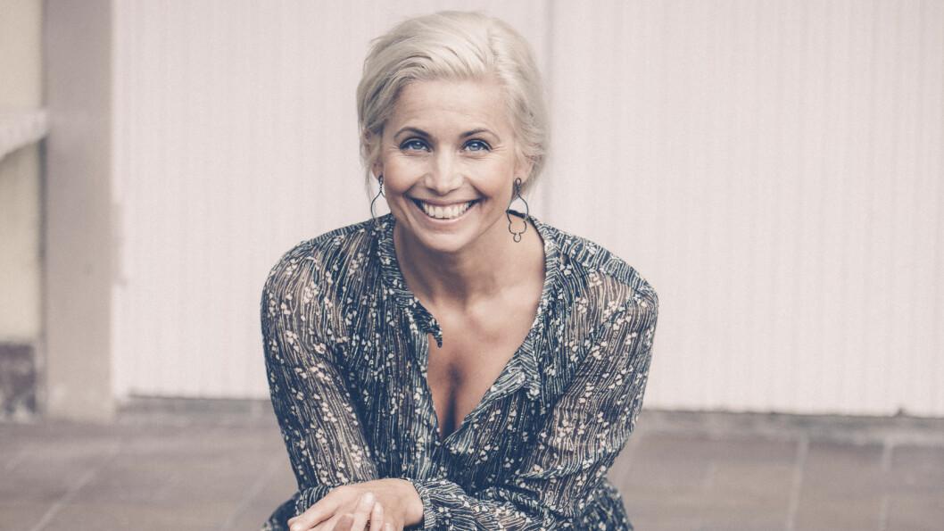 TV-KOKK TINA NORDSTRÖM: Tina har ingen femårsplan, livet skrider i vei i sitt eget tempo, men i høst skal hun mange helger til Norge Foto: Rickard L Eriksson