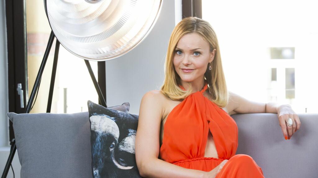 85e29f07 FOTBALLFRUE LA UT NYTT MAGEBILDE: Caroline Berg Eriksen (29) ble tidligere  denne uka