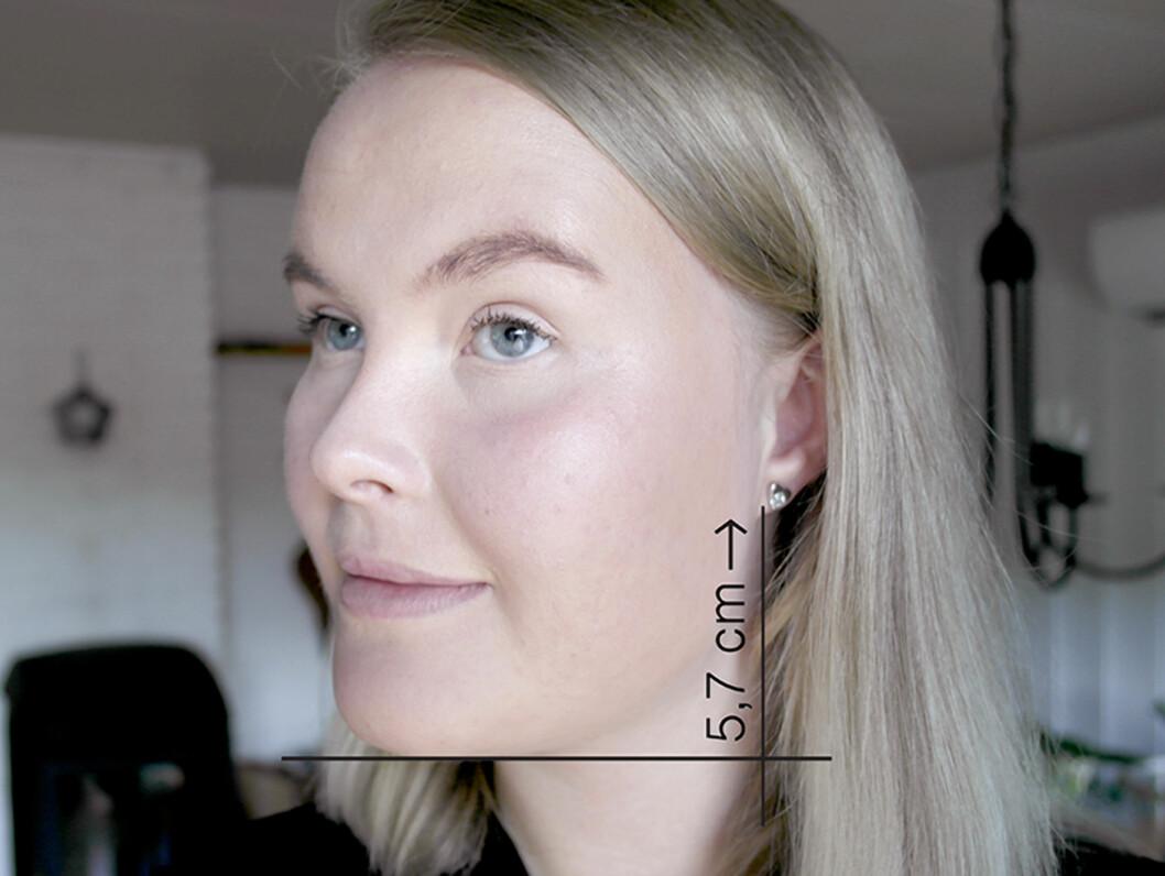 5,7-REGELEN: Linjal og blyant er alt du trenger!  Foto: Line Omland Eilevstjønn