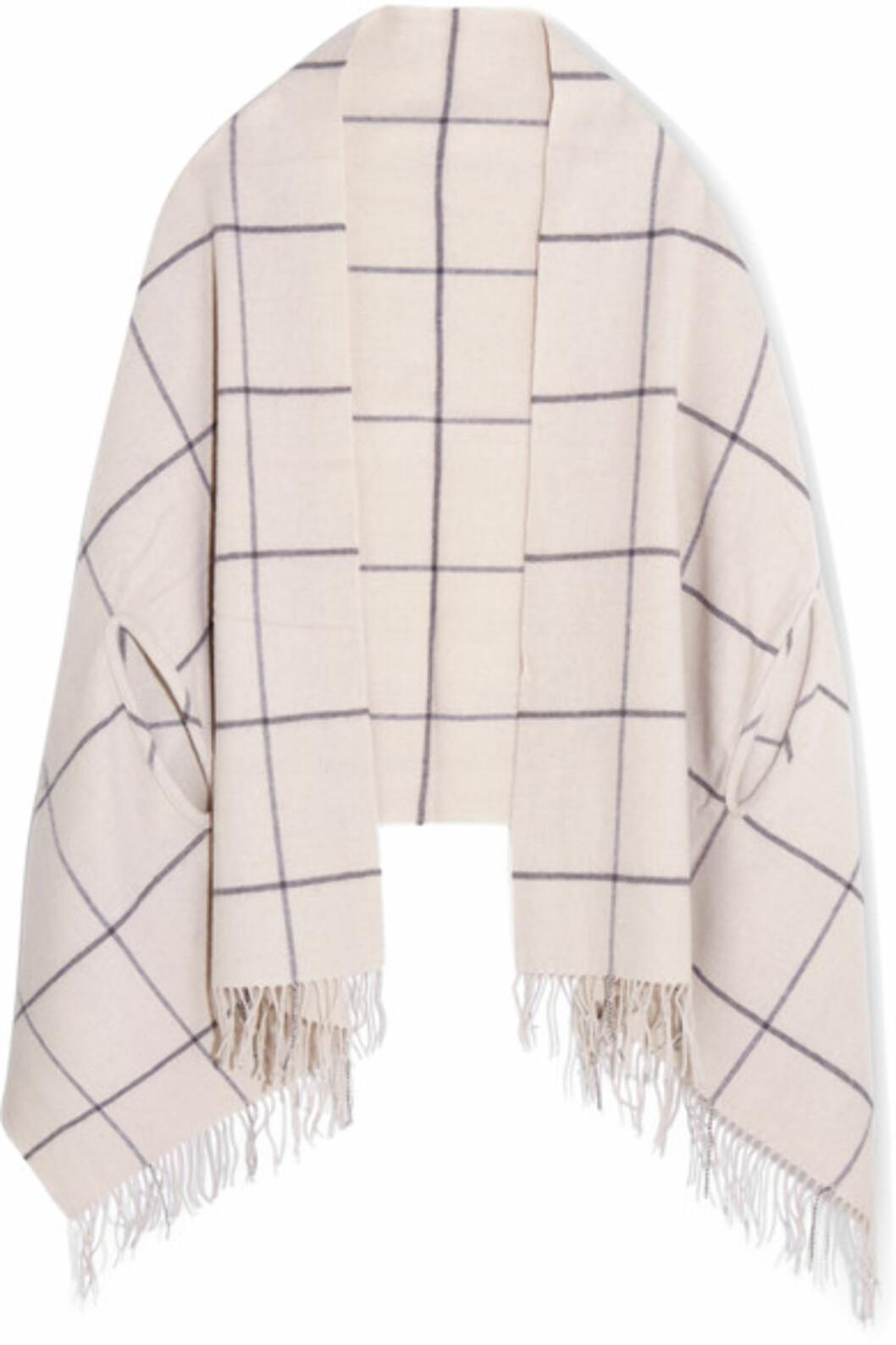 Skjerf fra Madewell via Net-a-porter.com | kr 1094 | https://www.net-a-porter.com/no/en/product/767092/madewell/windowpane-check-wool-scarf