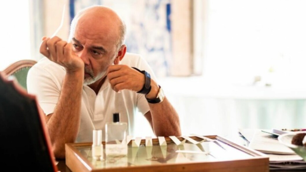 <strong>LANSERER PARFYME:</strong> Den franske designeren Christian Louboutin (53), som er kjent for luksusskoene med den røde sålen, lanserer nå parfyme for kvinner.