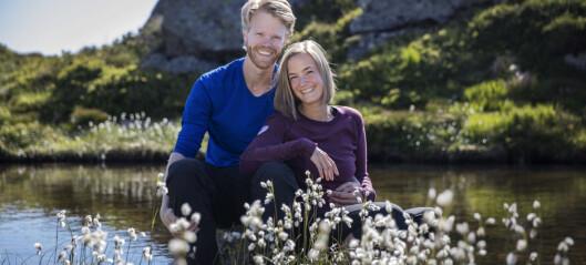 Tore Solvang og Stine Brorstad fant hverandre på fjellet