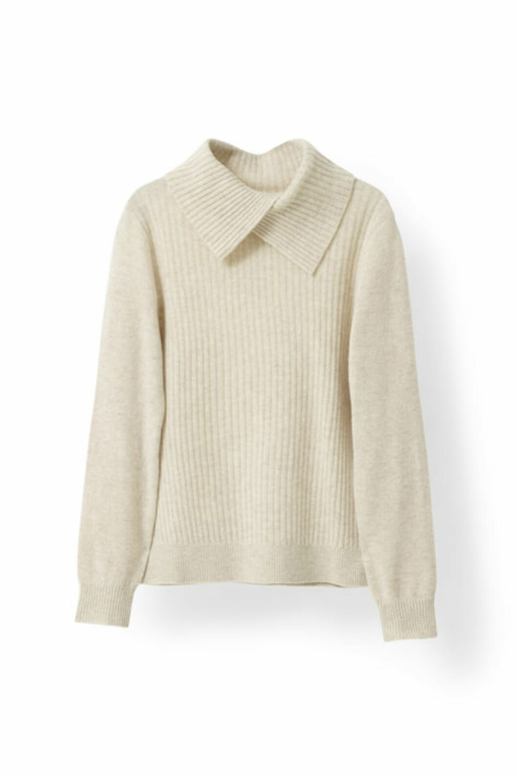 <strong>Strikkagenser fra Ganni | kr 1599 | http:</strong>//www.ganni.com/shop/shirts-and-blouses/mercer-knit-rollneck/K0914.html?dwvar_K0914_color=Vanilla%20Ice%20Melange#start=43