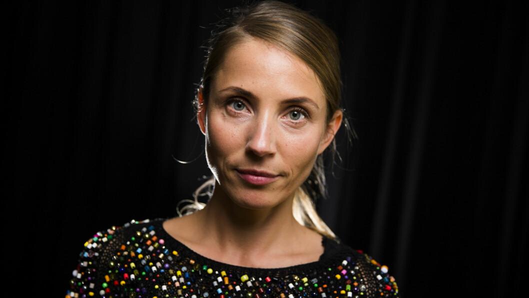 NOBEL: Den svenske skuespilleren Tuva Novotny har rollen som Johanne Riiser, sekretariatsleder i Utenriksdepartementet, i NRK-serien «Nobel». KK.no møtte den blide 36-åringen under pressevisningen av serien i midten av september. Foto: NTB Scanpix
