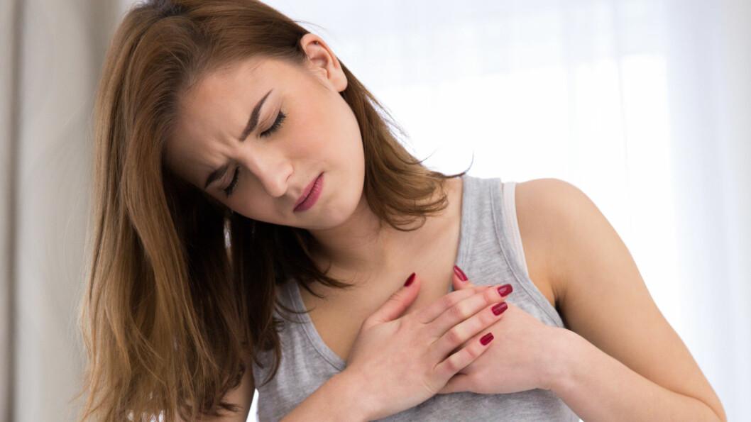 HJERTEINFARKT: Det er klart flest eldre som får hjerteinfarkt, men livsstilen vår mener forskere gjør at også unge kvinner rammes.  Foto: Shutterstock / Dean Drobot