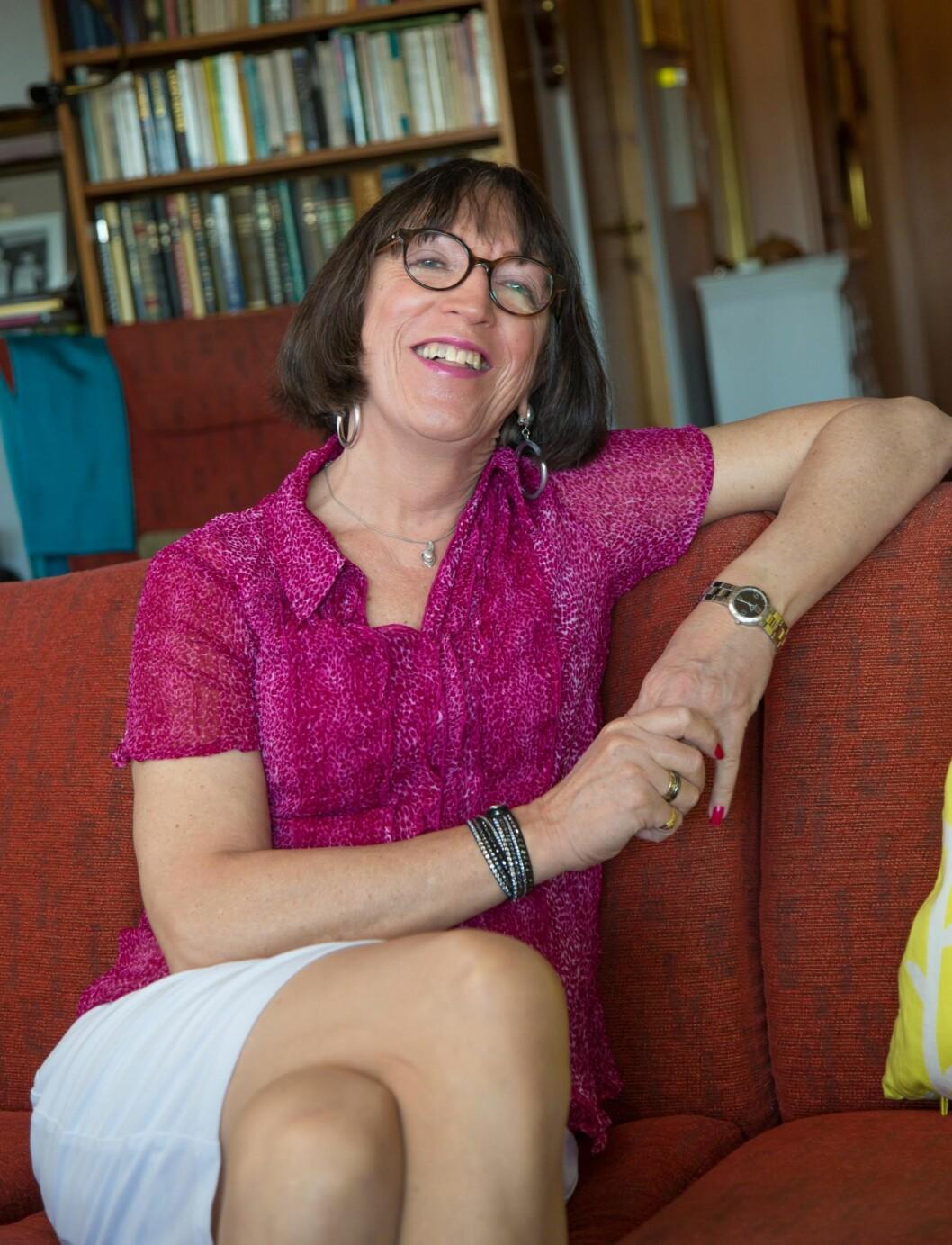ÅPEN: Etter et langt liv med hemmeligheter sto Jeanette fram i 2010. Fire år senere frontet hun en Amnesty-kampanje for retten til å velge juridisk kjønn. Foto: Siv-Elin Nærø