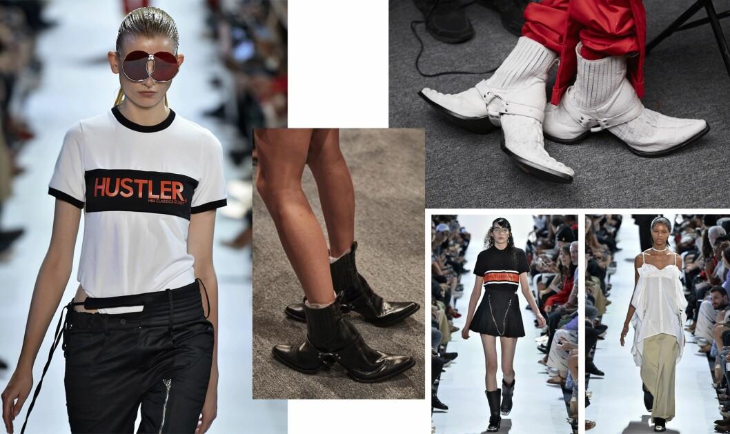 HOOD BY AIR: Sjekk ut disse bisarre skoene! Foto: Scanpix