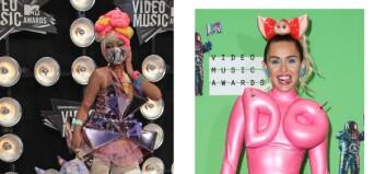 Disse kjendisene havner på listen over tidenes verste MTV VMA-antrekk