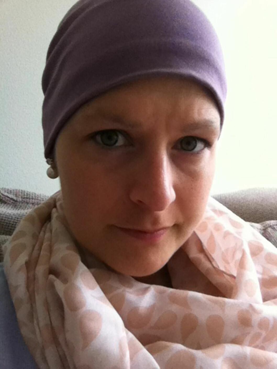 EN HARD KAMP: Mange tilbakefall gjorde kampen mot kreften ekstra energitappende for Ingunn.