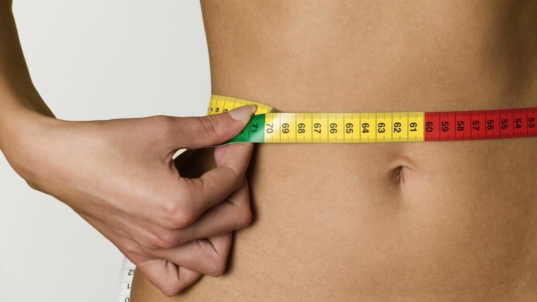 SMAL MIDJE: Det handler langt fra bare om utseende, men også om helse, ifølge ekspertene. Foto: NTB Scanpix