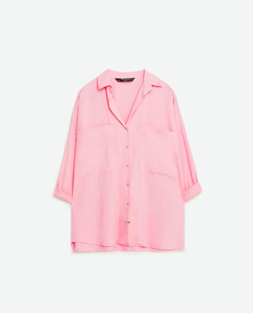 Skjorte fra Zara | kr 299 | http://www.zara.com/no/no/trf/skjorter/oversize-skjorte-c269211p3773872.html