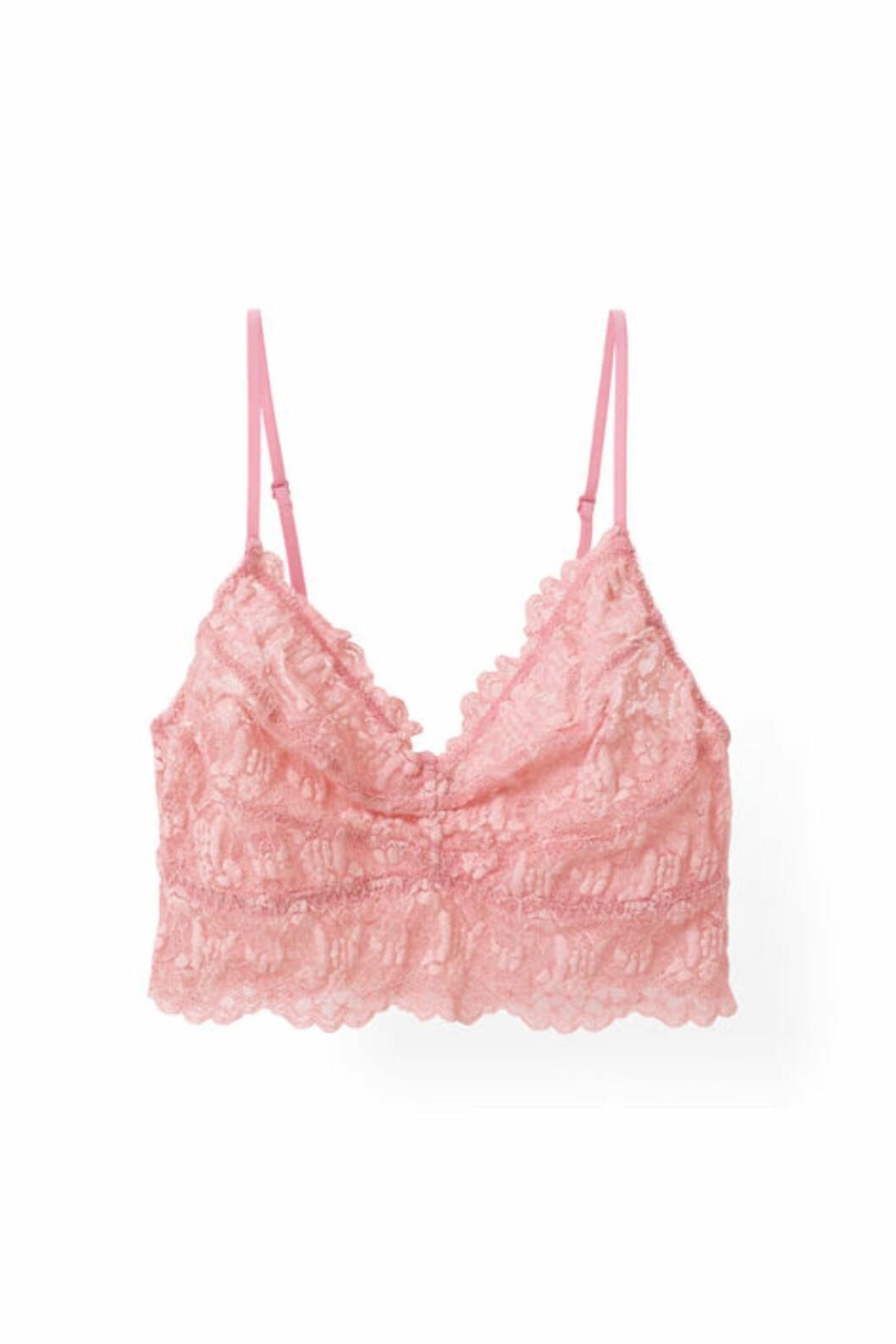 Blondebh fra Ganni | kr 549 | http://www.ganni.com/shop/lingerie/cherry-lace-bra/A0983.html?dwvar_A0983_color=Peony