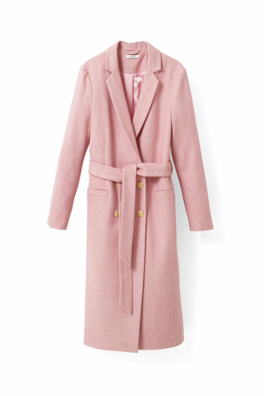 Kåpe fra Ganni | kr 3299 | http://www.ganni.com/shop/coats-and-jackets/hawthorne-wool-coat/F1447.html?dwvar_F1447_color=Peony%20Melange