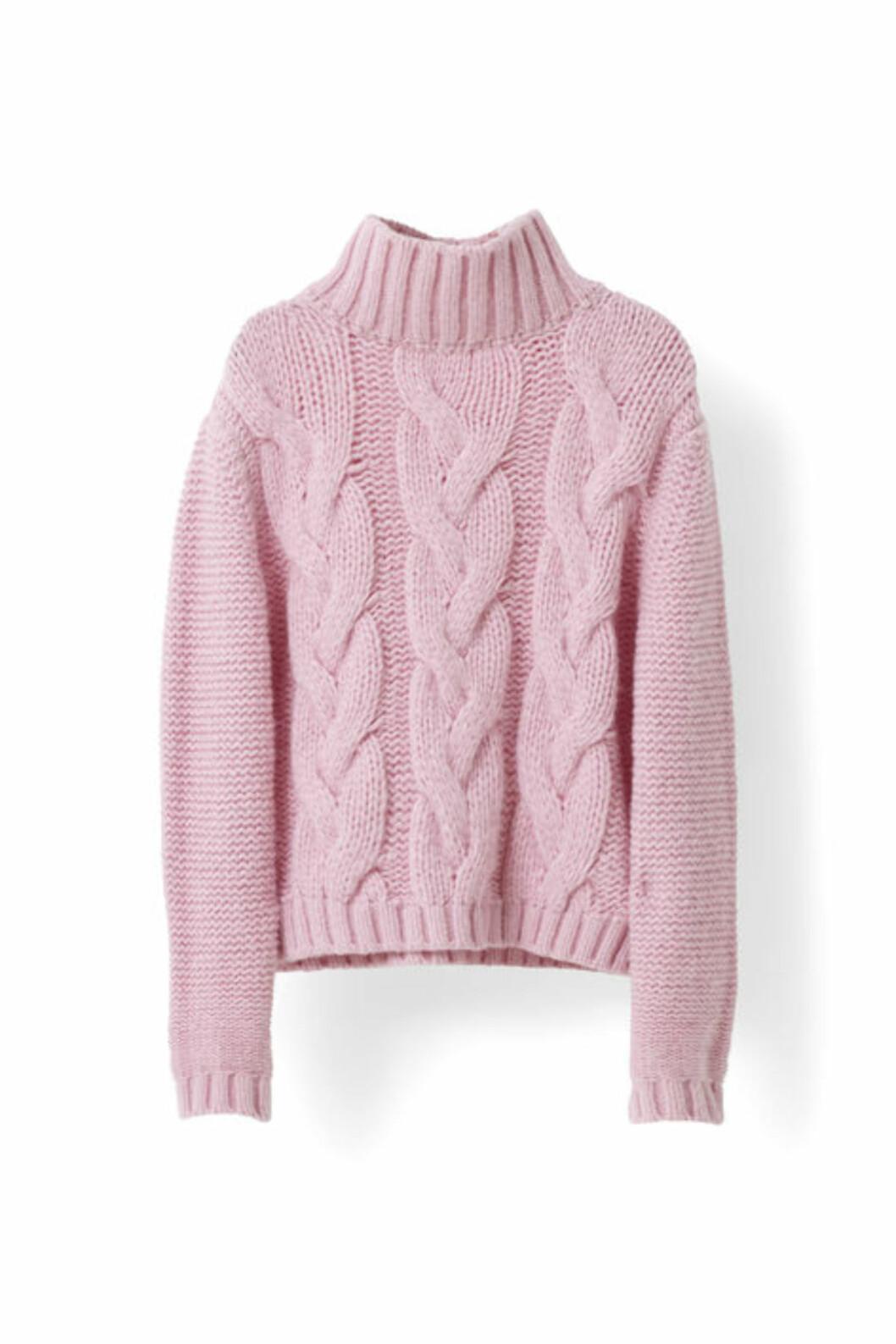 Strikkagenser fra Ganni | kr 3499 | http://www.ganni.com/shop/shirts-and-blouses/brooks-rollneck/K0893.html?dwvar_K0893_color=Peony%20Melange#start=21