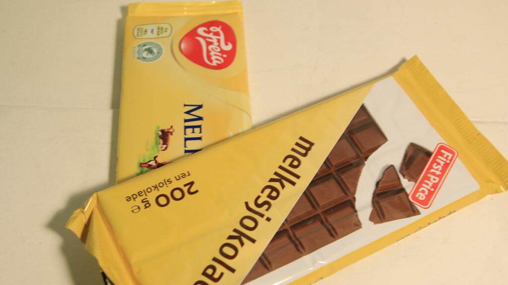 First price sjokolade: Er billigsjokolade et dårligere