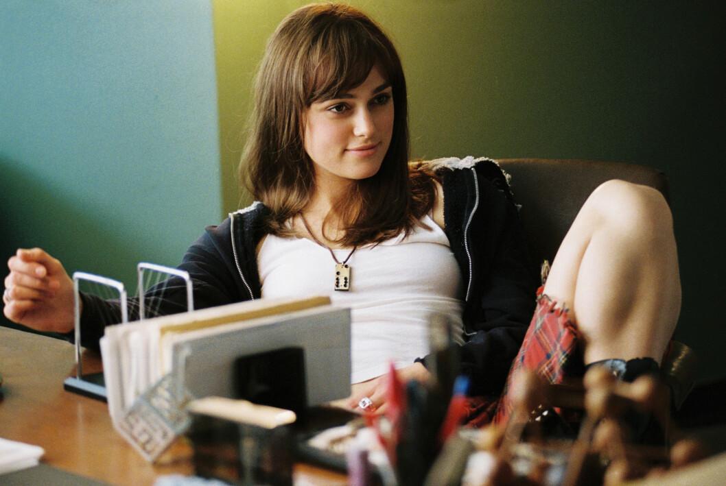 Keira Knightley hår i filmen «Domino» 2005. Foto: Mary Evans Picture